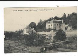 CPA 95 Chars  Villa Les Pinçons Rue De Brignancourt Neuve TBE - Chars