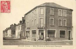GOUZON - Hôtel Moderne Et Gendarmerie Nationale.. - France