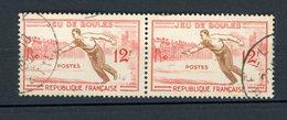 FRANCE - JEU DE BOULES - N° Yvert 1161 Obli. - France