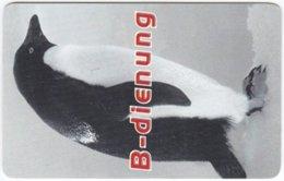 AUSTRIA O-334 Prepaid B-free - Animal, Bird, Penguin - Used - Austria