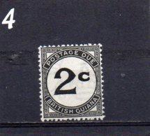 1940 Postage Due 2c MNH - British Guiana (...-1966)