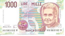 Italy  P-114c  1000 Lire  1990  UNC - [ 2] 1946-… : Républic