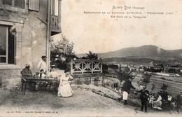SAINT-DIE - Restaurant De La Laiterie Saint-Martin - Un Coin De La Terrasse (vue Animée) - Saint Die