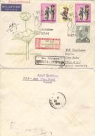 DDR 2x1476,1371,1481 Auf Retour-R-Brief Nach Vietnam - [6] Repubblica Democratica