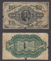 USA 10 Cent 1863 (G) Condition Banknote Fractional Currency F-1255 - Devise Fractionnelle (1862-1875)
