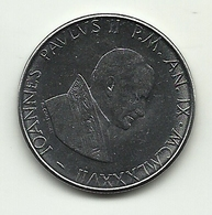 1987 - Vaticano 100 Lire - Vaticano