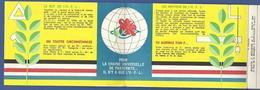 Franc Maçonnerie Masonic Maçonnique Non Circulé En 3 Volets Passeport - Philosophie & Pensées