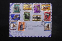 CONGO BELGE - Enveloppe De Stanleyville Pour La Belgique En 1959 , Affranchissement Plaisant - L 24940 - Congo Belge