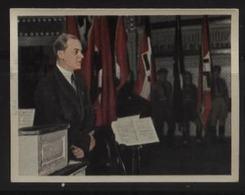 WW II Zigaretten Sammelbild 6,2 X 4,8 Cm , Der Staat Der Arbeit Und Des Friedens , Nr. 240 : Alfred Rosenberg,ungebrau - Briefe U. Dokumente