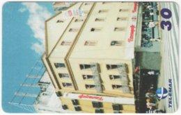 BRASIL H-409 Magnetic Telemar - Architecture, Building - Used - Brésil