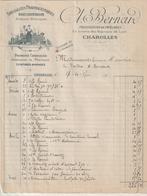 SAONE ET LOIRE ) CHAROLLES ,pharmacie C L BERNARD - Petits Métiers