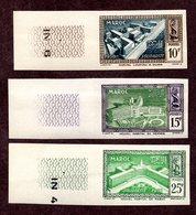 Maroc   N°302/04 ND Essai De Couleur N** TB (légère Ondulation)  Cote 35 Euros !!!RARE - Maroc (1891-1956)