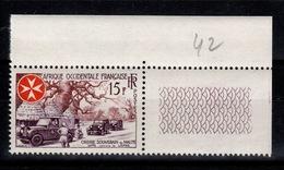 AOF - YV 63 N** Ordre Souverain De Malte , Lutte Contre La Lèpre - A.O.F. (1934-1959)