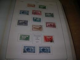 Turchia PO 1921/22 Black Surch. Scott.601+602+603+604+See Scan On Kabe Page; - Usados