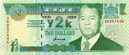* FIJI - 2 DOLLARS 2000 COMMEMORATIVE UNC - P 102 A - Fidji