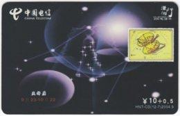 CHINA C-524 Prepaid ChinaTelecom - Signs Of Zodiac, Libra - Used - China