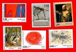 3763 --  FRANCE - 1993  Lot  De  Timbres  Neufs - Sammlungen