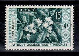 AOF - YV 62 N** Le Café - A.O.F. (1934-1959)