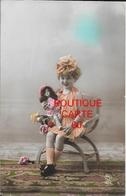 Portrait D'enfant . Jeune Fille, Fillette, Kleines Mädchen, Little Girl-( POUPEE ) - Women