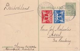 PAYS-BAS 1927     ENTIER POSTAL/GANZSACHE/POSTAL STATIONERY CARTE DE HEERENHOEK - Entiers Postaux