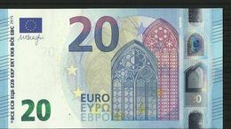 "20 EURO IRELAND ""T"" T005 A2 TC0171659711 UNC DRAGHI - EURO"