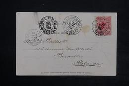 BRÉSIL - Affranchissement De Botafogo Sur Carte Postale Pour La Belgique En 1904 , Oblitérations Plaisantes - L 24951 - Cartas