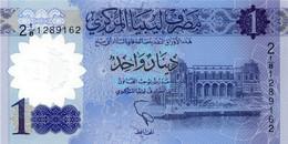 * Libya 1 Dinar 2019  UNC - Libya