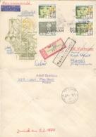 DDR 3x1886,1882 Auf Retour-R-Brief Nach Vietnam - [6] République Démocratique