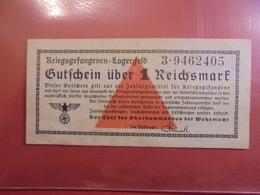 3eme REICH (LAGERGELD(CAMPS)) 1 MARK CIRCULER - [ 4] 1933-1945 : Troisième Reich