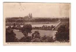 37 Ste Sainte Radegonde Panorama Du Golf Et La Cathedrale De Tours Vus De La Cote Fleurie Cachet 1935 - Tours