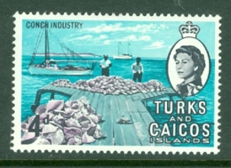 Turks & Caicos Is: 1967   QE II Pictorials   SG278   4d   MH - Turks And Caicos