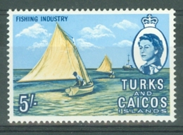 Turks & Caicos Is: 1967   QE II Pictorials   SG285   5/-   MH - Turks And Caicos