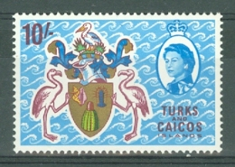 Turks & Caicos Is: 1967   QE II Pictorials   SG286   10/-   MH - Turks & Caicos (I. Turques Et Caïques)