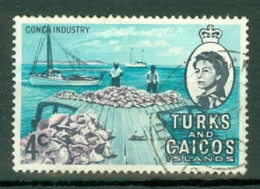 Turks & Caicos Is: 1971   QE II - Pictorial - Decimal Currency  SG336    4c    Used - Turks And Caicos