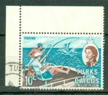 Turks & Caicos Is: 1971   QE II - Pictorial - Decimal Currency  SG340    10c    Used - Turks And Caicos