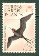 Turks & Caicos Is: 1973   Birds   SG382    1c    Used - Turks & Caicos (I. Turques Et Caïques)
