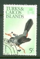 Turks & Caicos Is: 1973   Birds   SG386    5c    Used - Turks And Caicos
