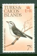 Turks & Caicos Is: 1973   Birds   SG387    7c    MNH - Turks And Caicos