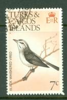 Turks & Caicos Is: 1973   Birds   SG387    7c    Used - Turks And Caicos