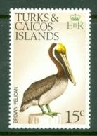 Turks & Caicos Is: 1973   Birds   SG390    15c    MNH - Turks And Caicos