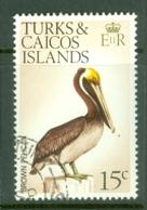 Turks & Caicos Is: 1973   Birds   SG390    15c    Used - Turks And Caicos