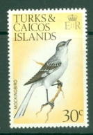 Turks & Caicos Is: 1973   Birds   SG392    30c    MH - Turks And Caicos