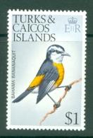 Turks & Caicos Is: 1973   Birds   SG394    $1    MNH - Turks & Caicos (I. Turques Et Caïques)