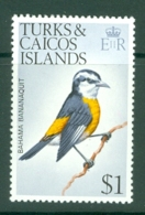 Turks & Caicos Is: 1973   Birds   SG394    $1    MNH - Turks And Caicos