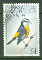 Turks & Caicos Is: 1973   Birds   SG394    $1    Used - Turks & Caicos (I. Turques Et Caïques)