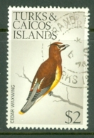 Turks & Caicos Is: 1973   Birds   SG395    $2    Used - Turks & Caicos (I. Turques Et Caïques)