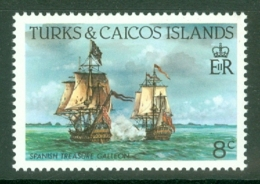 Turks & Caicos Is: 1983/85   Ships   SG771    8c  [Perf: 14]  MNH - Turks And Caicos