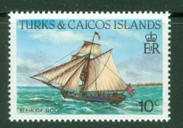Turks & Caicos Is: 1983/85   Ships   SG772    10c  [Perf: 14]  MNH - Turks & Caicos (I. Turques Et Caïques)