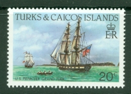 Turks & Caicos Is: 1983/85   Ships   SG773    20c  [Perf: 14]  MNH - Turks And Caicos