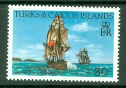 Turks & Caicos Is: 1983/85   Ships   SG775    30c  [Perf: 14]  MNH - Turks And Caicos